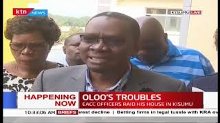 EACC officers raid Kisumu Assembly Speaker Onyango Oloo\'s house