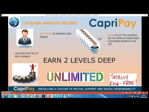 Capripay   Life changing opportunity that cost you nothing to be part of