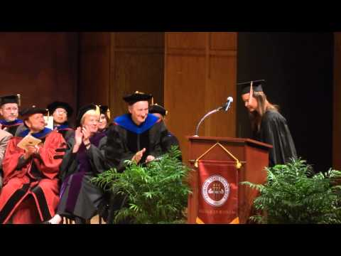 Master's Hooding Ceremony - May 1, 2015