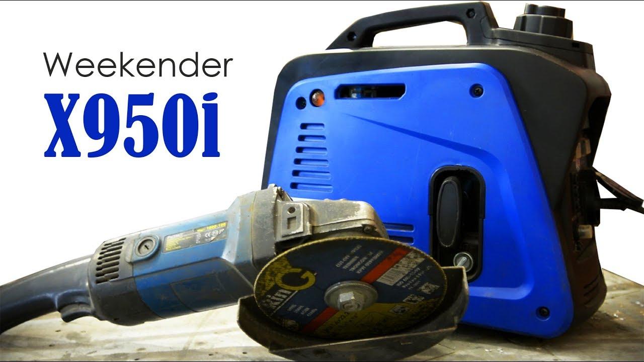 Генератор бензиновый weekender x950i сварочные аппараты для дома посоветуйте
