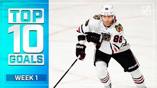 Top 10 Goals from Week 1 | 2021 NHL Season