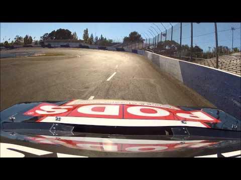 SRL test at Stockton 99 Speedway BSR