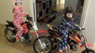 DIRT BIKES FOR CHRISTMAS - Christmas 2011 | Clintus.tv