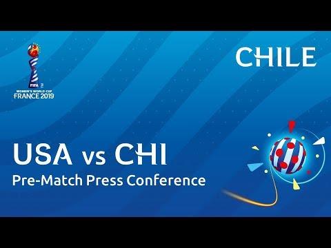 USA v. CHI - Chile - Pre-Match Press Conference