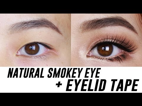Brown Smokey Look For Small Eyes