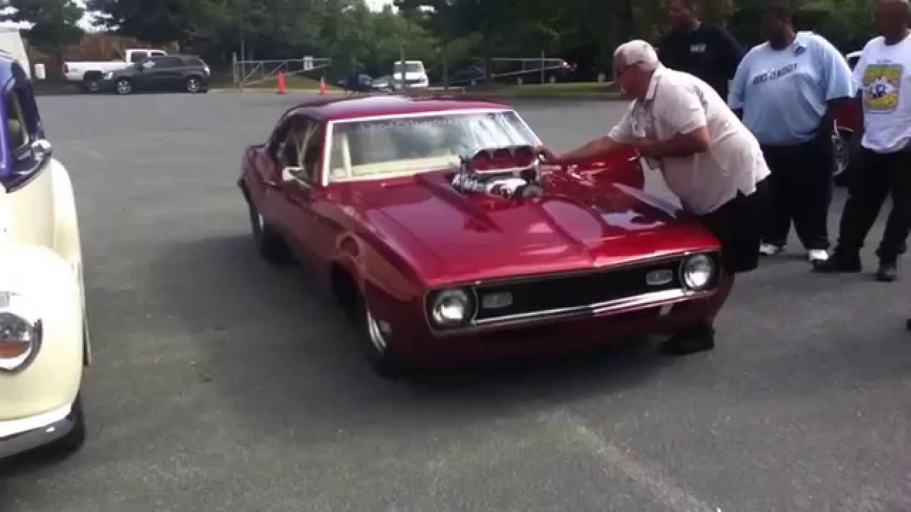 Bad Blown Injected 562 Hemi Powered Camaro Start Up Youtube