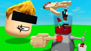 ROBLOX VR but I put PLAYERS in BLENDER..