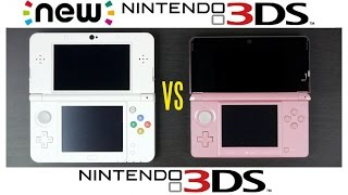 2015 NEW Nintendo 3DS vs Nintendo 3DS Full Comparison