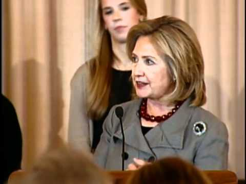 Secretary Clinton Swears In Special Representative Balderston
