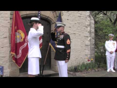 Renz Ibarra - US Navy Officer Pin & Cap Ceremony - May 16, 2015