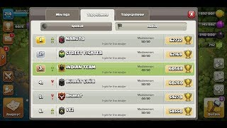 TOP 3 NUMBER AFTER SEASON END MY EXPERIENCE clash of clans