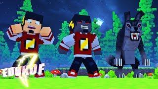 Minecraft Saphira: VIREI UM LOBISOMEM Ep.3 ‹ EduKof Games ›
