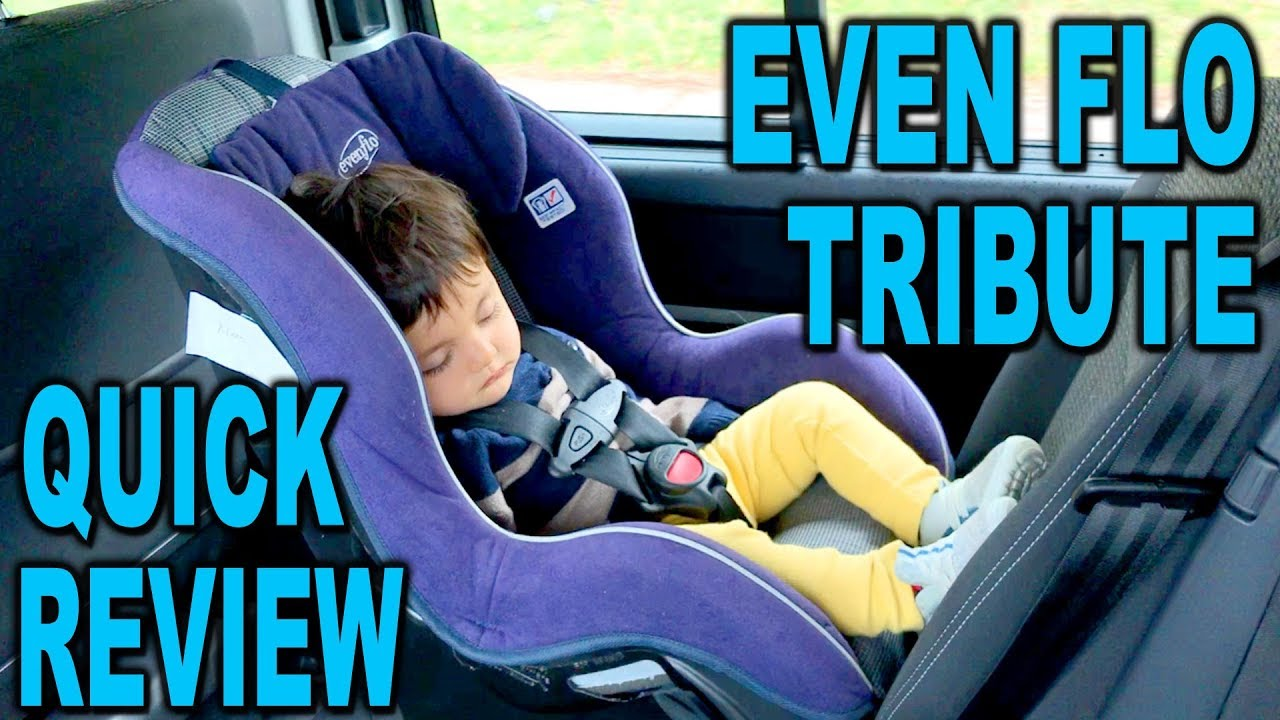 Evenflo Tribute As A Travel Car Seat Review Clueless Dad