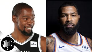 Kevin Durant gets subtweeted by Marcus Morris over his 'cool' comments | The Jump