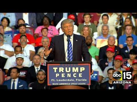 FULL SPEECH: One of the CRAZIEST Donald Trump rallies we've ever seen! Ft. Lauderdale, Florida
