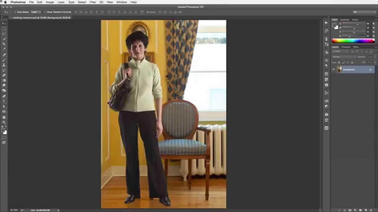 Use Photoshop to Erase Clothing