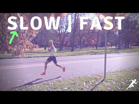 Why I run SLOW in order to race FAST