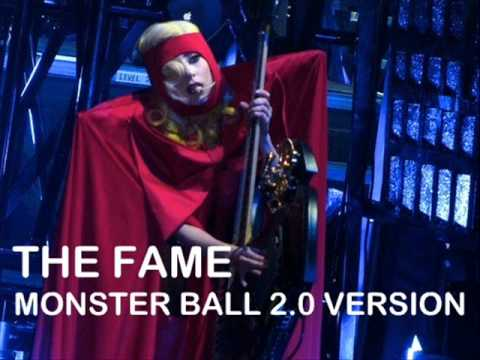 Lady Gaga - The Fame Instrumental w Backing vocals (Monster Ball Version)