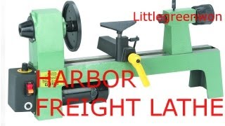 "Harbor Freight Lathe 8"" X 12"" #95607"