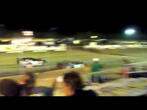 Mid-Nebraska Speedway - Doniphan, Nebraska - Racing action!