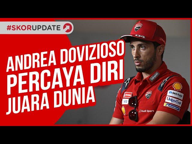 ANDREA DOVIZIOSO YAKIN JUARA DUNIA MOTOGP, MAVERICK VINALES LEWAT !!!