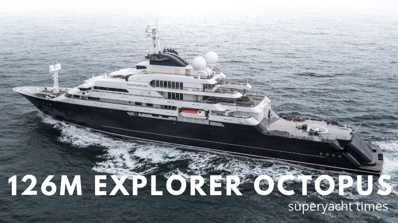 In Pictures 126m Explorer Yacht Octopus Returns To Germany