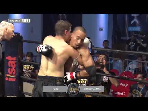 EXTREME FIGHT II | Gege Vs Anderson Santana