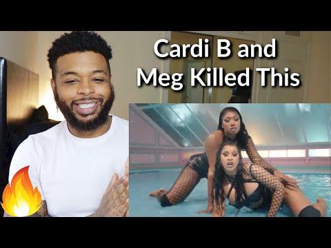 Cardi B - WAP feat. Megan Thee Stallion [Official Music Video]   Reaction