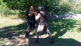 айкидо защита  от ударной техники