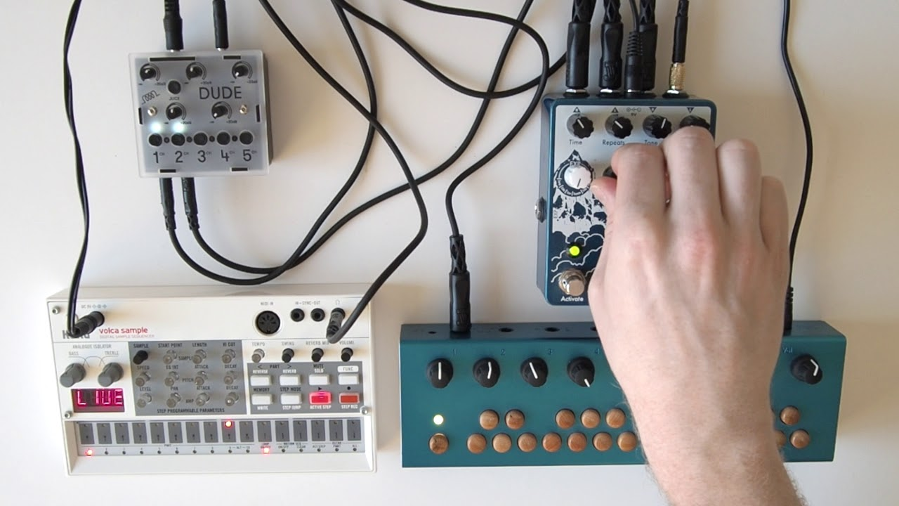 Organelle Volca Sample Avalanche Run critterguitari