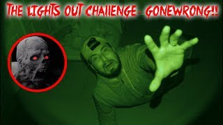 THE LIGHTS OUT CHALLENGE IN HAUNTED DEMONS HOUSE GONE WRONG!! (ZOZO)