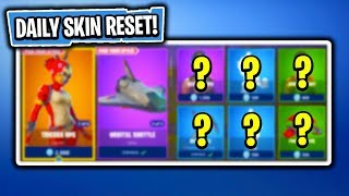 Daily & Featured Item Shop In Fortnite: Battle Royale! (Skin Reset #167)