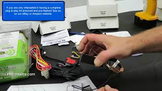 Addiing An RF Remote Kit and T Harness To The EVO ONE