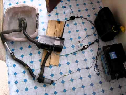 Eberspacher Hydronic Diesel Water Heater D5wz Bench