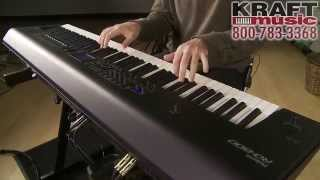 kraft music roland rd 800 stage piano demo with scott tibbs
