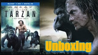 The Legend Of Tarzan Blu Ray Unboxing En Español