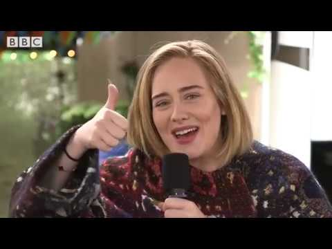 Adele (Interview With Jo Whiley) Glastonbury, BBC