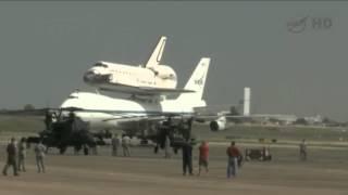 Endeavour landing in Houston, NASA live feed