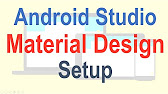 4 Android Material Design Tutorial - YouTube