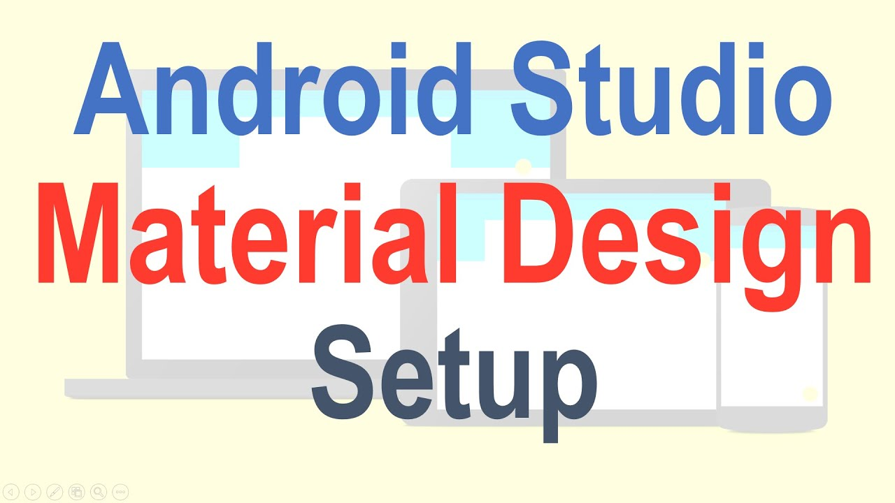how to add a widget to palette android studio