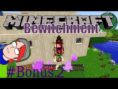 Minecraft. Bewitchment - Magic Broom . Bonus  Ep. 2