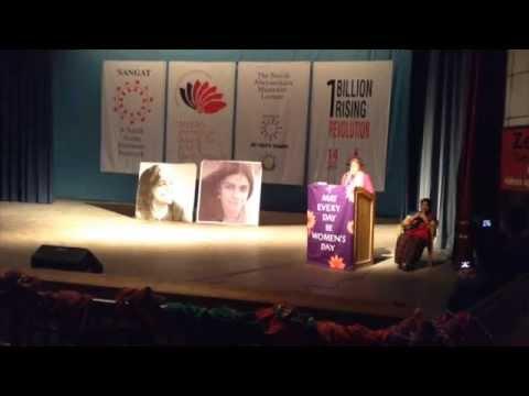 Charlotte Bunch delivers the Annual Sunila Memorial Lecture (Part 3)