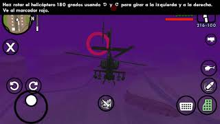 GTA San Andreas versión androi (aprendiendo a volar y misión 69)