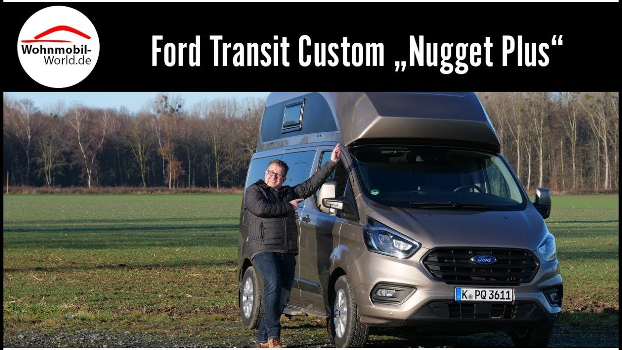 Ford Transit Custom Nugget Plus Fullreview Roomtour Test Youtube