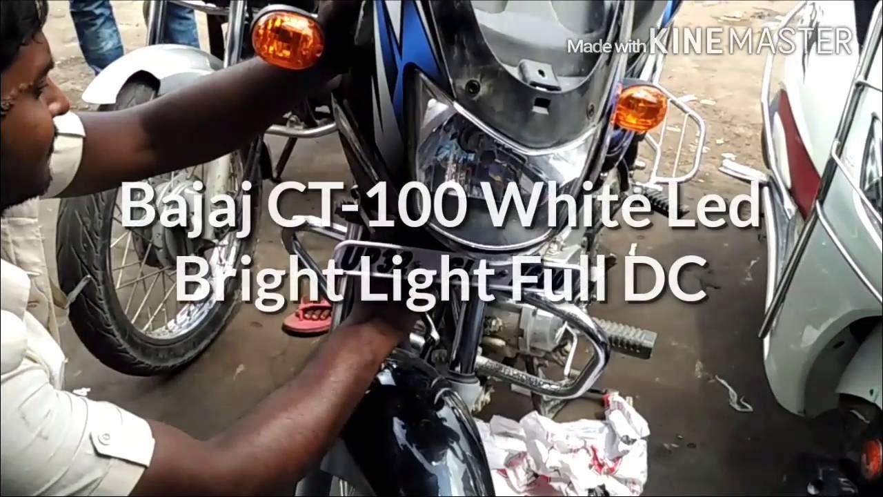 Kawasaki Bajaj Ct 100 Wiring Diagram List Of Schematic Circuit Daihatsu L7 Bright Light Full Dc Youtube Rh Com