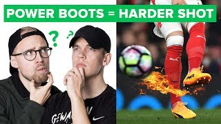 Will Power Football Boots make you shoot harder? | Uncut 55 1/2