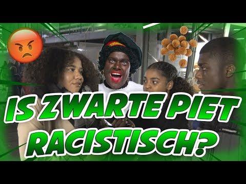 IS ZWARTE PIET RACISME? - ROTTERDAM