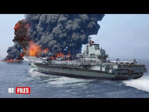 China Panic, UK Navy Warn all-out War with China Warship in South China Sea