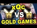 xQc VIEWER GOLD GAMES (Gold Fuel VS Gold Dragons)