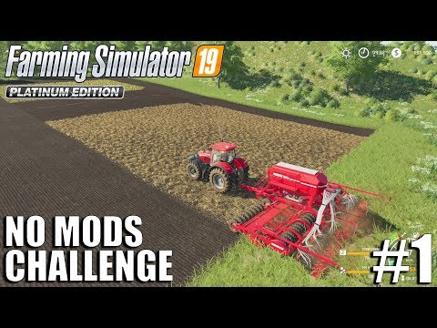 No Mods Challenge | #1 | Farming Simulator 19 | Timelapse